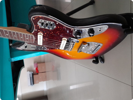 Fender Jaguar 1965 Avri 2013 Sunburst