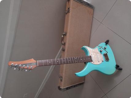 Modulus Guitars Genises G1t 1998 Green/ Blue