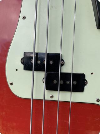 Fender Precision Pre Cbs 98% Original 1965 Dakota Red