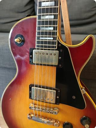 Gibson Les Paul Custom  1971 Cherry Sunburst