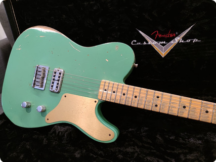Fender Telecaster Cabronita 2013 Celadon Green