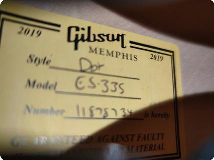 Gibson 335 2018 Black