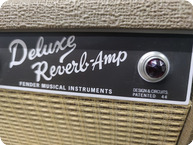Fender Deluxe Reverb BlondeBrownie 2018 Brown