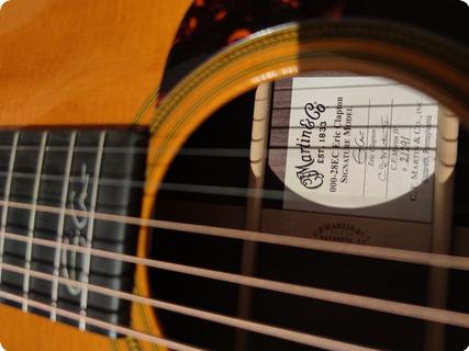 C. F. Martin & Co 00028 Eric Clapton Signature 2015 Natural