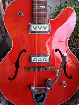 Guild X 160 Rockabilly 2003 Orange