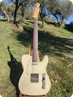 Fender Telecaster Custom Shop 2004 White Vintage