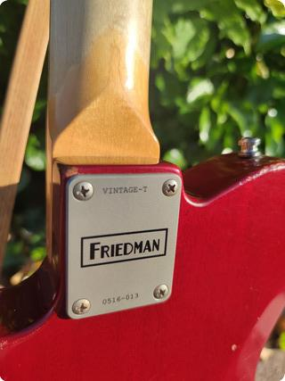 Friedman T Vintage Mrts90 2018 Wine Red