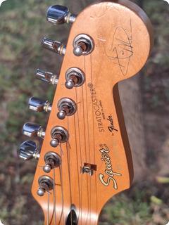 Fender Stratocaster Hank Marvin Signature Japan 1992 Fiesta Red