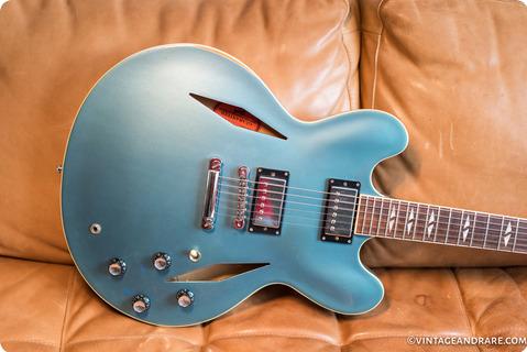 Gibson Dg 335 Dave Grohl Signature  2007 Pelham Blue