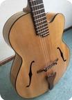 Daniel Slaman Nylon String Jazz Custom Acoustic Archtop Guitar 2009 Semi Gloss