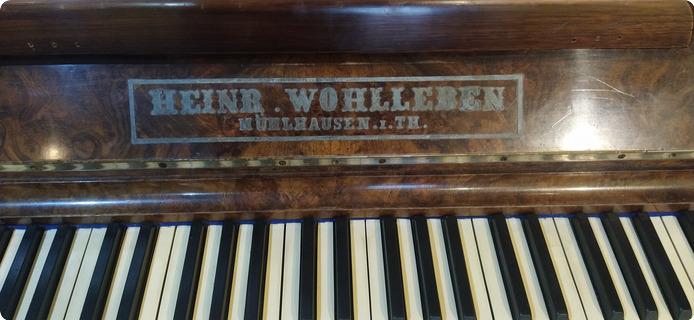 H. Wohlleben Mühlhausen 1906 Brown