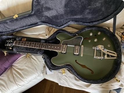 Gibson Chris Cornell Signature Custom Shop Es 335  2019 Olive Drab Green
