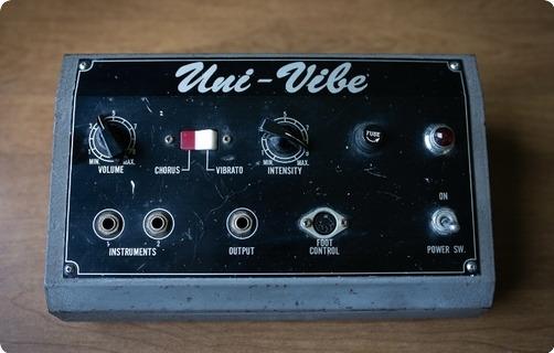 Shin Ei  Uni Vibe Jimi Hendrix Owned And Used  1970