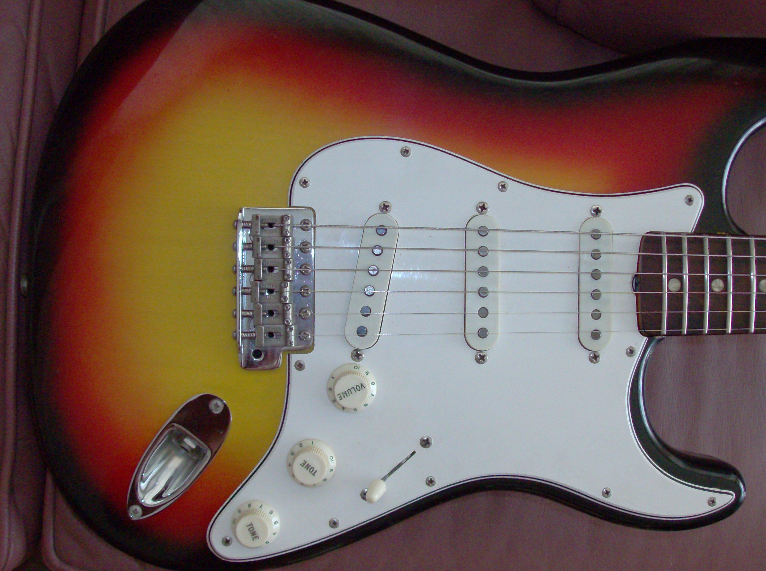 Fender Stratocaster 1965 Guitar For Sale