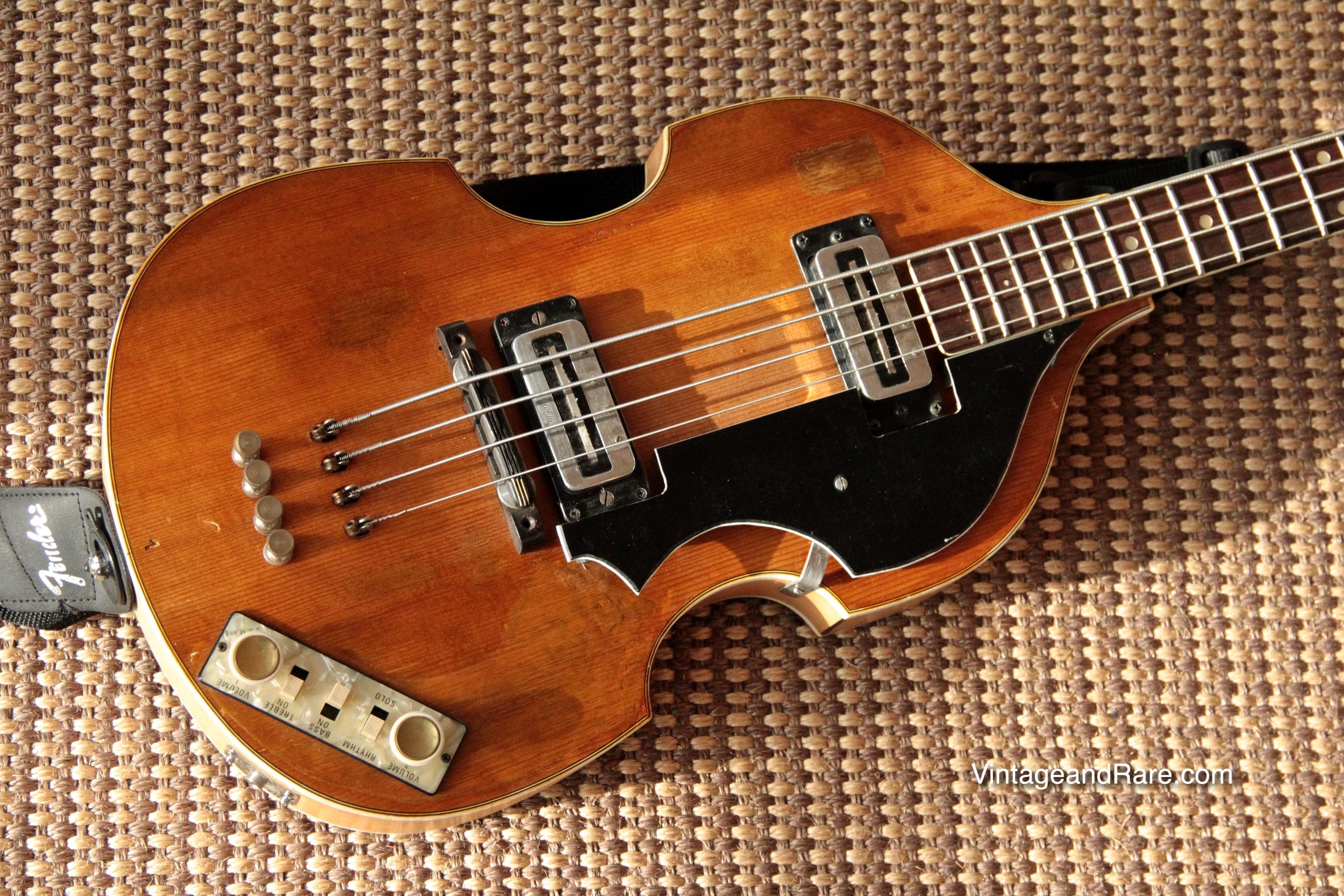 1967 hofner violin bass