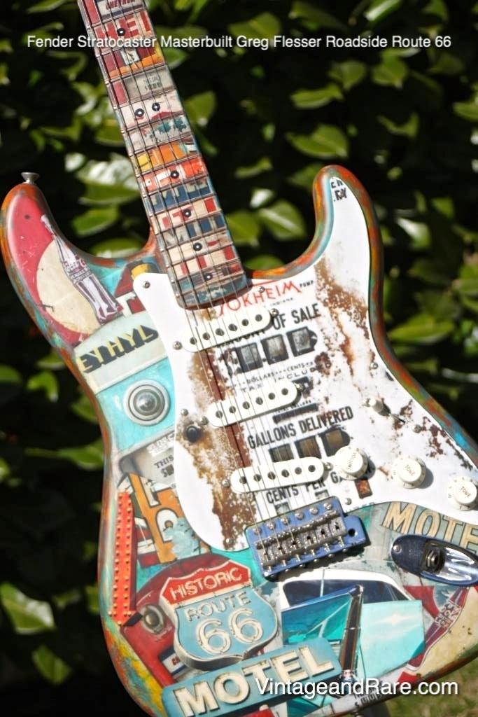 Fender Stratocaster Masterbuilt Greg Flesser Roadside Route 66 2010 Closet  Classic ...
