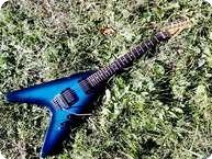 Kramer Vanguard Imperial 1983 Blue Burst