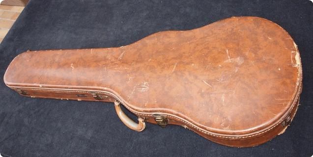 gibson les paul case 1950 39 s brown guitar. Black Bedroom Furniture Sets. Home Design Ideas