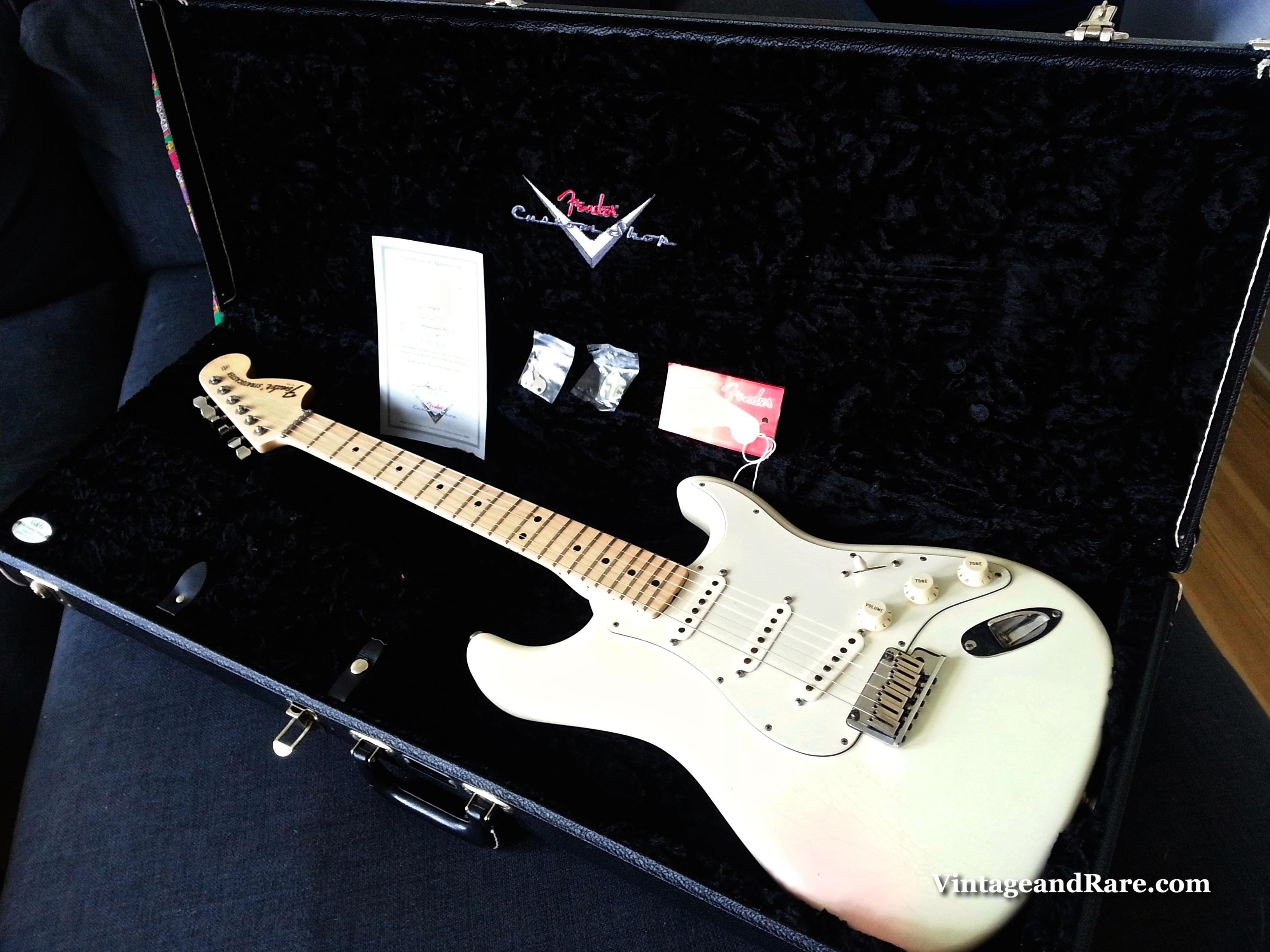 Fender Stratocaster Custom Shop Pro Closet Classic Nos 2006 White ...