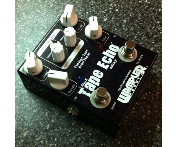 Wampler Pedals Faux Tape Echo With Tap 2013 Black Sparkle