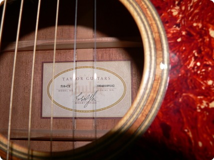 Taylor Guitars 510ce 2004 Natural