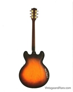 Gibson Eb 6 Prototype Hank Garland Owned 1958 Sunburst