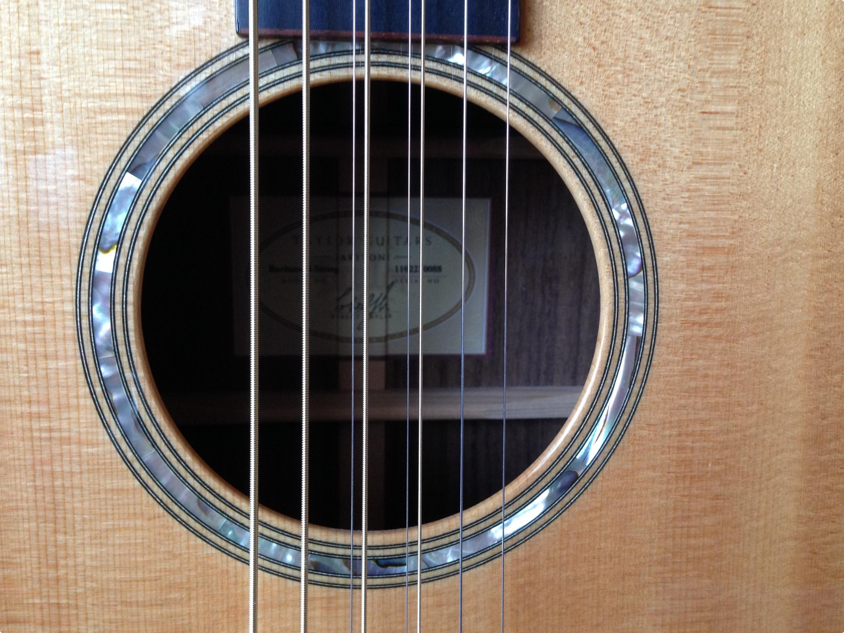 taylor baritone 8 2010 glossy natural guitar for sale. Black Bedroom Furniture Sets. Home Design Ideas