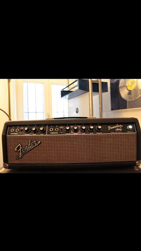 Fender Tremolux Head 2 X 12 Cab 1964
