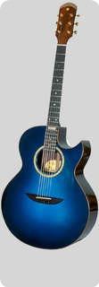Versoul Kenny Burrell Jazz Model 6 Natural Back/sides, Special Bl