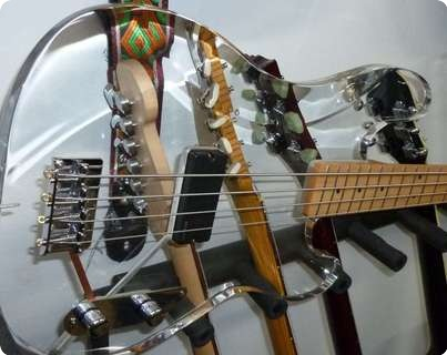 Fgw  Finnish Guitar Works  Acrylic Precision Bass 2006
