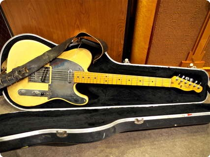 Fender Telecaster, Jeff Buckley Owned 1983 Butterscotch
