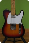 Fender Custom Telecaster 1968 Three Colour Sunburst