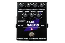 Carl Martin 3 Band Parametric Pre Amp
