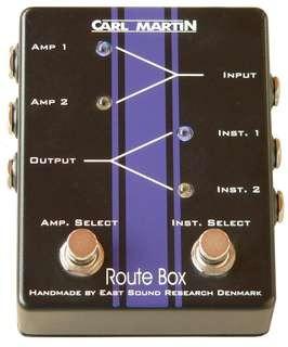 Carl Martin Route Box