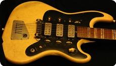 Hofner Galaxy Model 175 1964 White Crocodyle Vinyl
