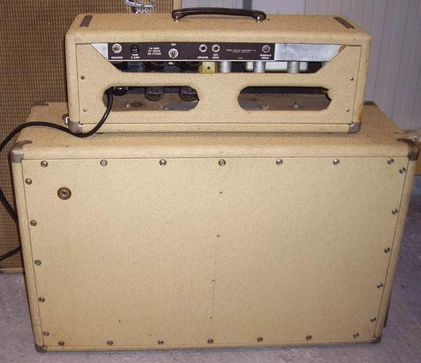 Fender Tremolux 1962 Blonde Tolex