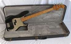 Fender Precision 1975 Black refinish