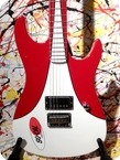 Fender So Call Speed Shop Stratocaster White Red Racing Stripe