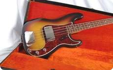 Fender Jazz 1964 3 Tone Sunburst