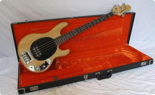 music man stingray 1980 natural bass for sale andy baxter bass guitars ltd. Black Bedroom Furniture Sets. Home Design Ideas
