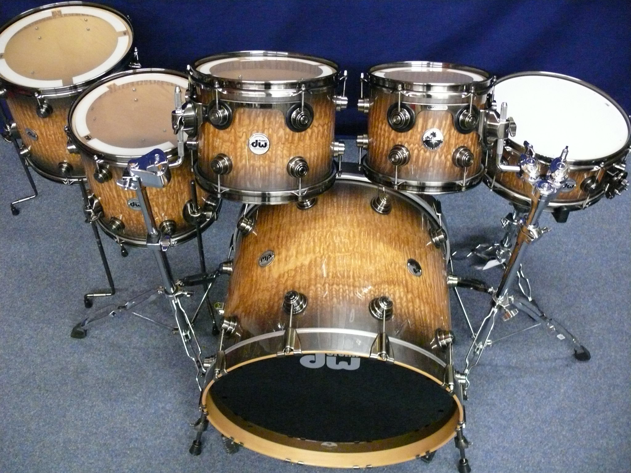 DW Performance Series Natural Lacquer 10/12/16/22