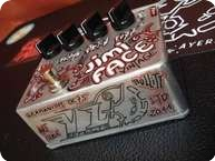 Vl Effects JimiFace Vintage 2013 Silver And Handpaint