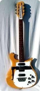 Rickenbacker 456 6/12 Convertible 1968 Natural Blond