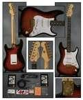 Fender Stratocaster 50th Anniversary 1996 Sunburst