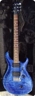 Paul Reed Smith Prs Custom 1987 Royal Blue & Teal Back