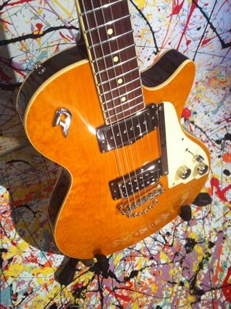duesenberg 49er 2012 honey guitar for sale jobfactory musicstore. Black Bedroom Furniture Sets. Home Design Ideas