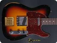 Fender Telecaster Custom Shop Masterbuilt 2008 3 tone Sunburst