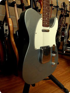 Fender Usa Custom Shop '67 Telecaster (limited Edition 200)  Firemist Silver Relic