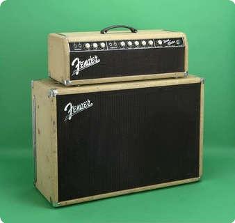 fender bandmaster 1962 white amp for sale jay rosen music. Black Bedroom Furniture Sets. Home Design Ideas