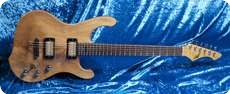 Schloff Guitars Incas 59 Semi Solid 1996 Natural
